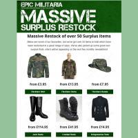 Surplus Restock