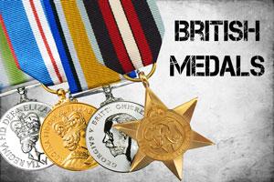WW2 and Modern British Medals
