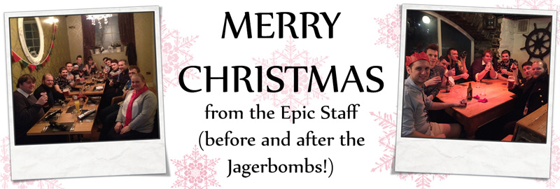 Merry Christmas from Epic Militaria
