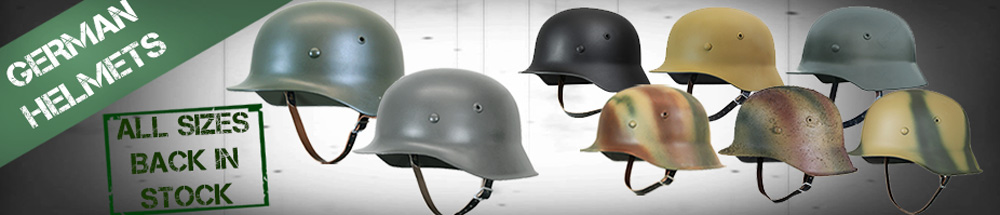 WW2 Germany Steel Helmets