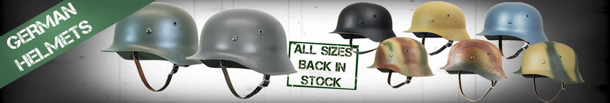 WW2 Germany Steel Helmets