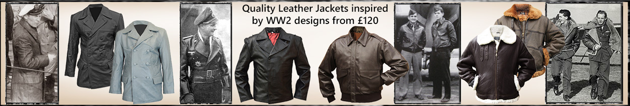 WW2 Inspired Leather Flying Jackets