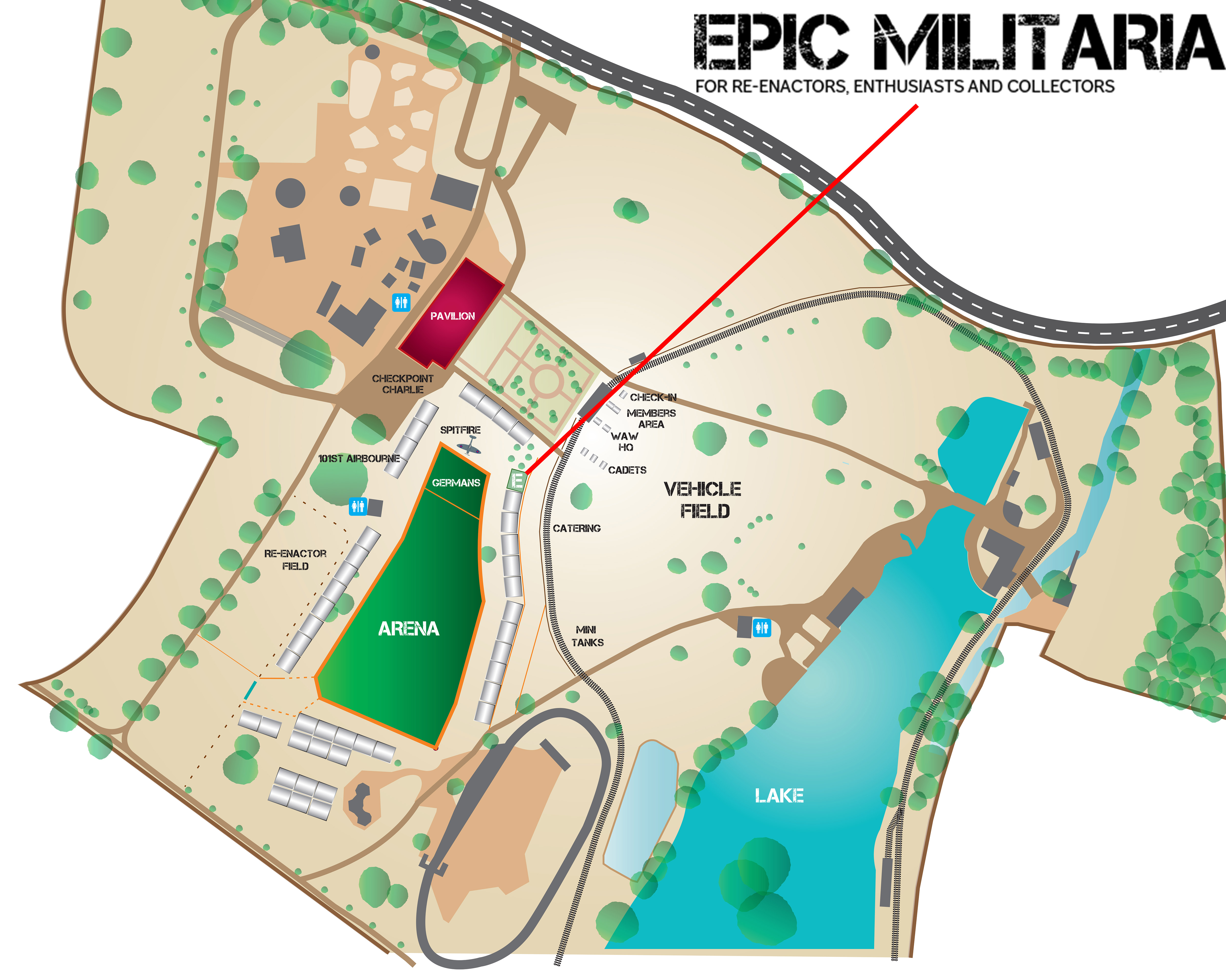Show Preview Wicksteed At War Epic Militaria Blog - Us checkpoints map