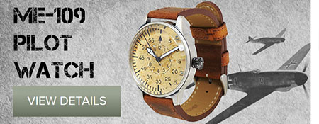 Luftwaffe Pilot Watch