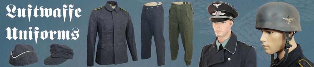 WW2 Luftwaffe Uniforms