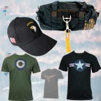Bags, Caps & T-shirts