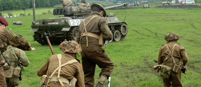 D Day Soldier Reenactment Group