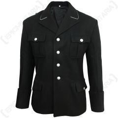 SS Black Service Tunic - Front