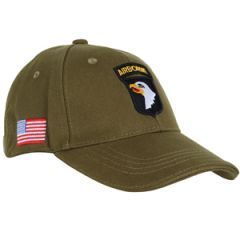 101st Airborne Baseball Cap - Green