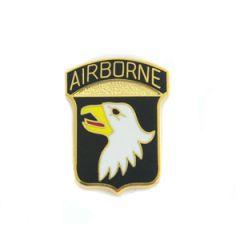 101st Airborne Pin Badge - Premium - Thumbnail