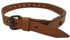 Brown Leather Zeltbahn Strap