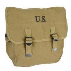 WW2 US M1936 Musette Bag - Khaki