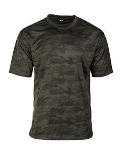 Mesh T-Shirt - Dark Woodland