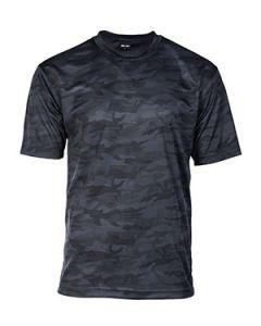 Mesh T-Shirt - Dark Camo
