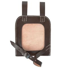 Straight Shovel Cover with Solid Back (Brown)