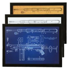 German MP40 Framed Patent Print Thumbnail