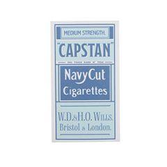 WW2 Era Capstan Cigarette Box