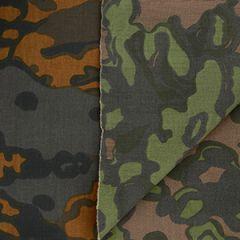 WW2 German Reversible Oakleaf Fabric - 1 Metre