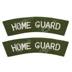 WWII British Home Guard Shoulder Titles
