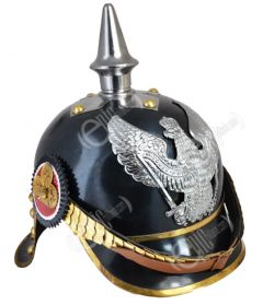 WW1 German/Prussian Cuirassier Pickelhaube - Black