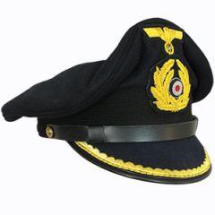 Kriegsmarine Company Grade Officer Visor Cap