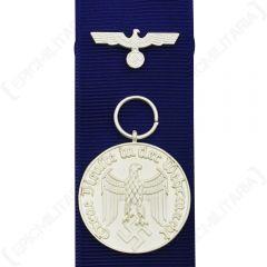 WW2 German Heer Service Medal - 4 Years