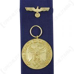 ww2 german heer service medal 12 years