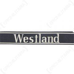 Westland BEVO Cuff Title