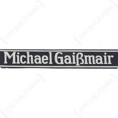Michael Gaissmair BEVO Cuff Title