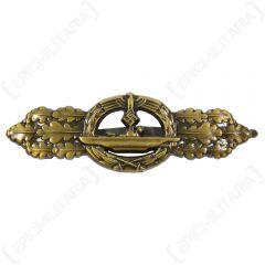 WW2 German U-Boat Clasp - Bronze