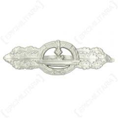 WW2 German U-Boat Clasp - Silver