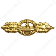 WW2 German U-Boat Clasp - Gold