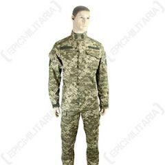Ukrainian Camo BDU Jacket and Trouser Set Thumbnail