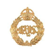 British 2nd Dragoon Guards Regiment Queens Bays Cap Badge