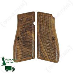 Hi-Browning Wooden Pistol Grips