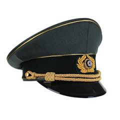 WW2 German Generals Visor Cap by Erel without Insignia