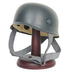 Miniature German Fallschirmjager Helmet with Stand