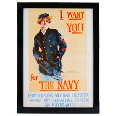 WW1 American I Want You For The Navy