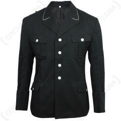 SS Officers Gabardine Wool Black Tunic