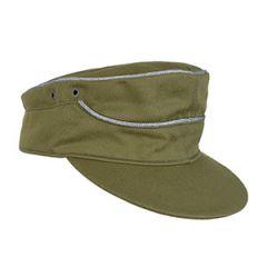 WW2 German Army DAK Officer Cap by Erel