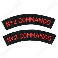 2 commando shoulder titles