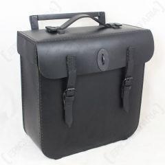 WW2 German BMW Leather Pack - Black
