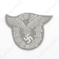WW2 German Luftwaffe Pilot Badge Bullion