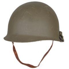 M1 Helmet with Brown Liner