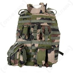 CCE Camouflage Tactical Vest with Pouches