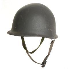 M1 Helmet with Blue Liner