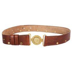 M1912 Leather Belt - Brown