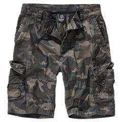 Brandit TY Cargo Shorts - Dark Camo