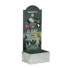 D-Day Wallmounted Bottle Opener