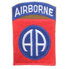 82nd Airborne Shoulder Patch - Type 2